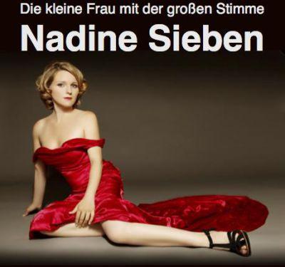 Sängerin Nadine Sieben