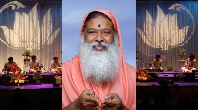 Konzert mit Sri Ganapathy Sachchidananda Swamiji und Ensemble in Berlin, 30. Juni 2018, 19:30, Konzerthalle Universität der Künste