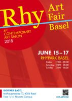 Poster Rhy Art Basel 2018