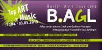 Kunstmesse B.AGL im Postbahnhof Berlin am Gallery Weekend