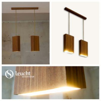 EIn Blickfang für jeden Raum: die handgefertigten Leucht-Objekte von Designer Otto Sprencz