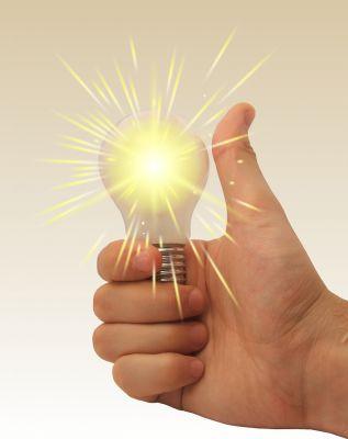 Licht steht als Methapher für viele Bedeutungen...