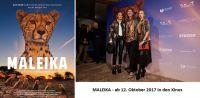 Filmplakat Maleika / Filmpremiere in Berlin