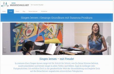 Singen lernen mit Susanna Proskura
