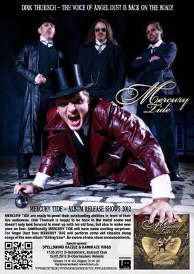 Mercury Tide Release Shows Plakat