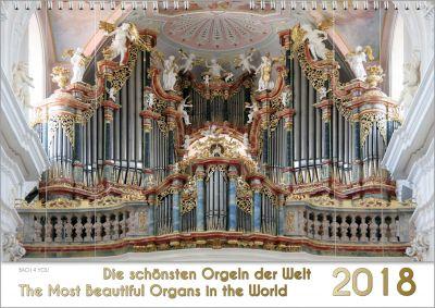 """Der Orgelkalender von """"Bach 4 You"""" 2018 ist ein Musik-Kalender."""