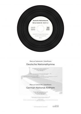 CD Deutsche Nationalhymne Katalog-Nr. DN, EAN 9008798097074   Noten Edition E 01, ISMN 979-0-700355-02-9 & ISBN 978-3-944937-02-1