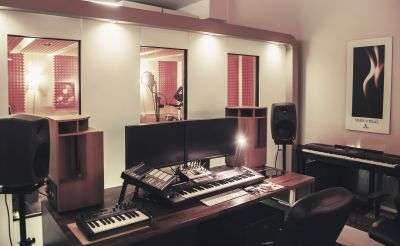 Ein Bild des Tonstudios pobo44.