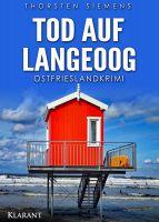 """Ostfrieslandkrimi """"Tod auf Langeoog"""" (Klarant Verlag, Bremen)"""
