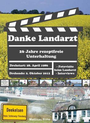 """Das Cover des neuen Buches über die TV-Serie """"Der Landarzt"""""""