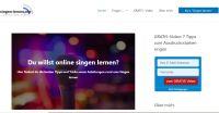 """Nischenportal zum Thema """"Singen lernen"""" mit Susanna Proskura gestartet"""