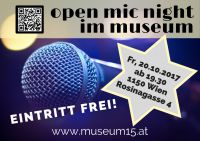 open mic night im museum
