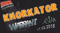 PM:1. rock for animal rights indoor Festival mit Knorkator