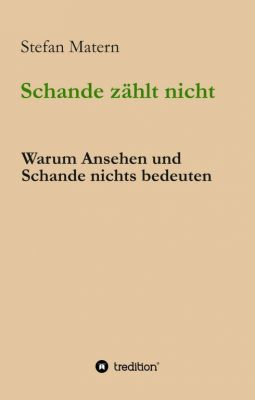 """""""Schande zählt nicht"""" von Stefan Matern"""