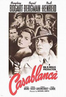 "Filmplakat zu ""Casablanca"""