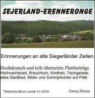 Siegerland früher: Neus Buch führt zurück in Kindheit und Jugend