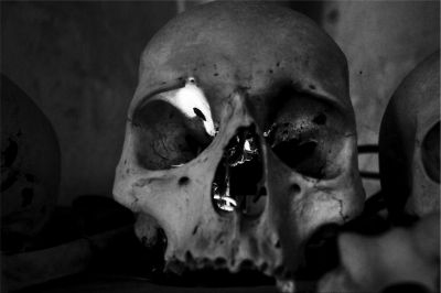 Fotoartist Alois Gmeiner managed to translate this beautiful bone art into impressive black and white pictures.