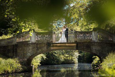 Hochzeitsfoto in Bürgerpark