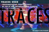 Traces 2020 - Die neue Event-Performance von JfR auf der 22. Kunstmesse Zürich