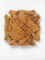 no title   waxed pine wood   59 x 77 x 6 cm