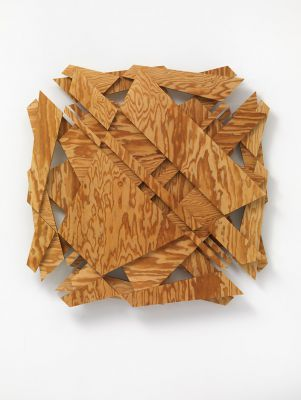no title | waxed pine wood | 59 x 77 x 6 cm