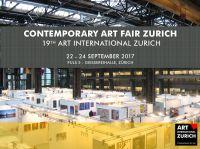 Vorschau auf die Aussteller der 19. Kunstmesse ART INTERNATIONAL ZÜRICH 2017