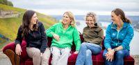 Die weinweiblich Winzerinnen (v.l.) Carolin Weiler, Eva Vollmer, Silke Wolf und Theresa Breuer
