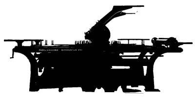 Lichtdruckschnellpresse Faber&Schleicher 2169
