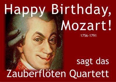 Happy Birthday Mozart 2017 - zum 261. Geburtstag