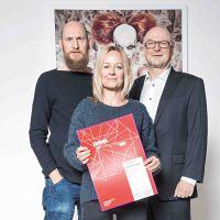 Frank Bayh, Steff Rosenberger-Ochs und Heinz Wurzel  Gregor International Photo Calendar Award 2017