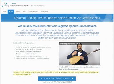 Baglama (Saz) lernen mit Cemil Aydemir und meineMusikschule.net