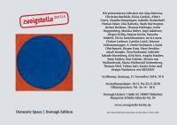 """""""Domestic Space   Domagk Edition"""" Ausstellung der Zweigstelle Berlin in den DomagkAteliers, Halle 50"""