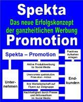 Spekta-Promotion! Das neue Erfolgskonzept der ganzheitlichen Werbung.
