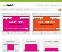 bannerkönig24 - Die Online-Druckerei