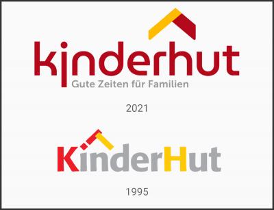 Grundlage für den neuen Markenauftritt: Das neue Logodesign der Kinderhut GmbH & gGmbH