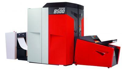 Die Rollen-Digitaldruckmaschine Xeikon 8500