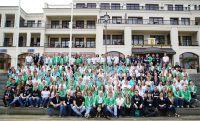 Knapp 250 Mitarbeiterinnen und Mitarbeiter haben am vergangenen Wochenende gemeinsam gefeiert.