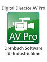 Digital Director AV Pro - Drehbuch Software für Industriefilmer, Auftragsproduktionen und Prävisualisierung von Spielfilmen