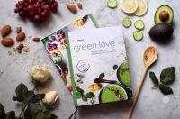 Druckfrisch auf dem veganen Kochbuchmarkt:  Green Love – für Spaß beim Kochen und Genuss jeden Tag.