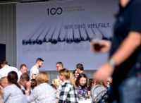 Passepartout inszenierte 100-jähriges Jubiläum für Zapp in Ergste