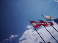 Flagge zeigen - das kommt nicht von ungefähr. Mit Fahnen und Flaggen kann man Stolz die Herkunft seiner Kunden präsentieren