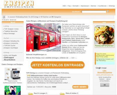 www.Kneipen-Empfehlung.de