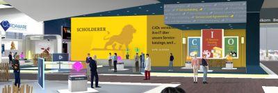Virtuelle Messe-Umgebung mit 3D-Avataren