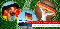 Werbemittel & Fanartikel zur Fußball EM online selbst gestalten