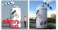 Skanbo - Ihr Spezialist für aufblasbare Werbeträger
