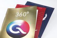 Einen PrintStar2013 in Gold gab es für das Kundenmagazin 360 °