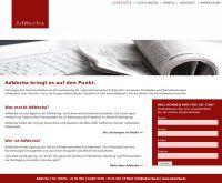 Die neue Internetpräsenz unter www.adwerba.de