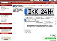Autokennzeichen Online Bestellen