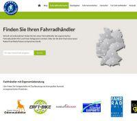 Fahrradhändlersuche auf Fahrrad & Gesundheit.de