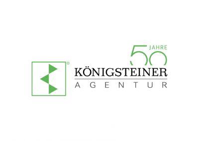 Das Logo der KÖNIGSTEINER AGENTUR